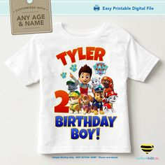 This item is designed for do-it-yourself t-shirt crafts. If you are looking to make a birthday shirt for your little one, then this is just the thing! Quick and