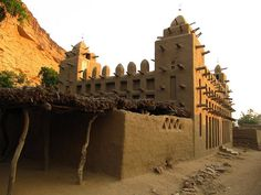 Moskee - Mali by Martijn.Munneke, via Flickr