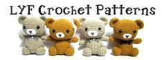 Little Yarn Friends - free patterns, super cute!