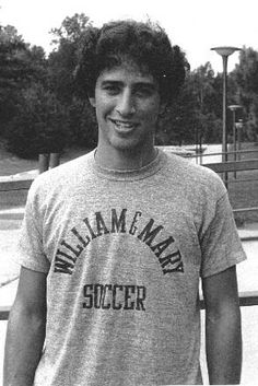 Because he was the cutest athlete of all time. | 29 Reasons Jon Stewart Is The Most Perfect Man On Earth