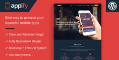 Appify - Multipurpose One Page Mobile App landing page WordPress Theme  -  https://themekeeper.com/item/wordpress/appify-multipurpose-one-page-mobile-app-landing-page-wordpress-theme