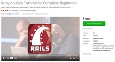 Ruby on Rails Tutorial for Complete Beginners http://ift.tt/1P0uka7  #udemy #coupon #discount #couponcode