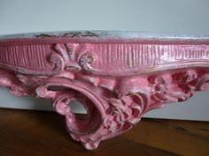 "Antik-Konsole ""Pink Lady"" von Mosaikhandwerk auf DaWanda.com"