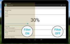 Bluelight Filter for Eye Care - screenshot