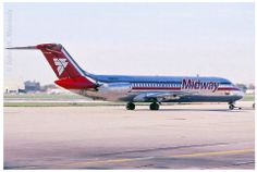 The last paint scheme for Midway Midway Airlines, Planes, Passenger Aircraft, Airplane Travel, Civil Aviation, Bus, Air Travel, Paint Schemes, The Past