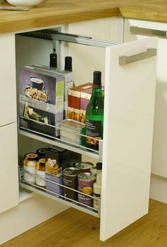Base Pull-Out Unit 300mm - Storage Solutions - Accessories - Kitchen Collection - Howdens Joinery