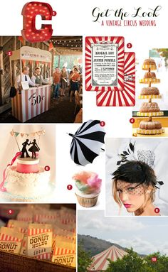 Who doesn't know that I'm obsessed with Vintage Circus Weddings? This website has the greatest ideas.