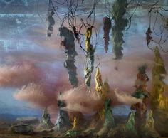 Abstract by Kim Keever.