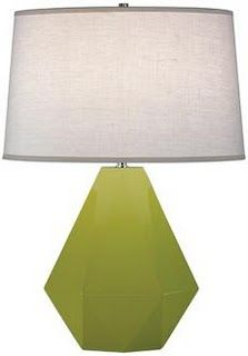 Just love this! huge shade and diamond shape base. To top it off my favorite color!