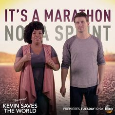 Quirky inspiration you didn't know you needed. Kevin (Probably) Saves the World premieres Tuesday 10|9c on ABC!