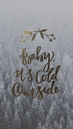The most wonderful time of the year! - Baby, it's cold outside wallpaper Christmas Quotes, All Things Christmas, Winter Christmas, Christmas Time, Christmas Captions, Merry Christmas, Winter Snow, Cute Backgrounds, Cute Wallpapers