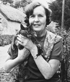 Barbara Pym (1930–1980) - a totally understated and underrated British novelist. Kind of a cat lady, who wrote a lot about spinsters and vicars and tea — but she was really just devastatingly precise about how humans need and feel and act.
