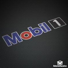 Pegatina Mobil #mobil #mobil1 #pegatina #adhesivo #tuning #moto #TeleAdhesivo