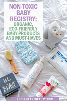 Non-Toxic Nursery Swaps and Natural Baby Products Need organic baby products for your non-toxic nursery? These are the must-have eco-friendly products to add to your baby registry! My Little Baby, Baby Love, Gripe Water, Baby Car Mirror, Kindergarten, Baby Must Haves, Baby Milestones, Free Baby Stuff, Baby Registry