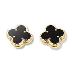 Sweet Alhambra Clover mini earstuds - Van Cleef & Arpels