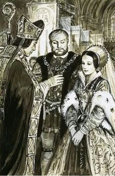 Henry VIII's and Anne Boleyn's wedding