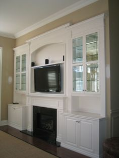 TV Over Fireplace Ideas | TV Over Fireplace - Reeces Fine Woodworking