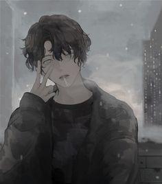 Anime Boys, Manga Anime, Dark Anime Guys, Art Manga, Manga Boy, Cute Anime Boy, Fanarts Anime, Anime Characters, Anime Art