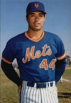Ron Darling, New York Mets pitcher.