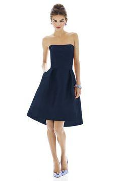 Alfred Sung D580 Bridesmaid Dress | Weddington Way