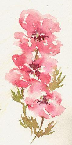 "CARTE DE VOEUX ""Flower power"" © (by Framboisine Berry)"
