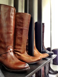 Fyre-- A simple brown boot is always a chic and classy touch to your wardrobe!