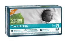 Seventh Generation Touch of Cloth Diapers, Newborn, 72 Count- We liked these a lot.  I used them the first few weeks before I switched to cloth.