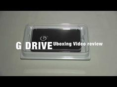 G DRIVE mobile USB 3 0 1TB Uboxing Review