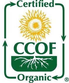 CCOF (California Certified Organic Farmer)