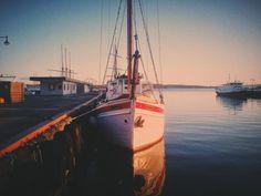 Sundown on the Water by Vru Patel on 500px