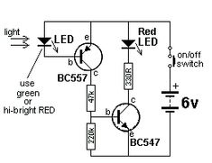 the same time, some of the energy is passed to the inductor so that the LEDs are not damaged. When the transistor is turned off, the energy from the inductor also gives a pulse of energy to Simple Electronics, Electronics Basics, Electronics Components, Electronics Projects, Basic Electronic Circuits, Electronic Schematics, Electronic Engineering, Electrical Circuit Diagram, Physics And Mathematics