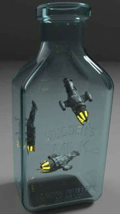Fireflies - great idea, definitely making this. Probably with some luminescent finishing on the engine......