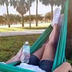 Swinging through #ZephyrhillsCountry.  #hammock #hammocklife #hammockvibes by @zephyrhillswtr