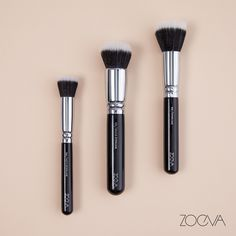 Strong Foundations. Our classic stippling brushes have you covered. www.zoeva.de