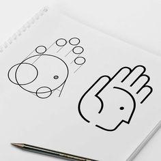Pinterest: Kblyigit Typography Inspiration, Logo Design Inspiration, Icon Design, Logo Branding, Branding Design, Share Logo, Great Logos, Unique Logo, Logo Images