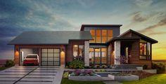 Tesla presenta un techo solar y una nueva batería para el hogar