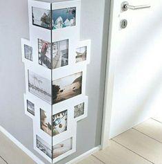 Fotoecken. Gute Idee, um langweilige Ecken mit den Lieblingsfoto zu dekorieren. Good Ideas for your Foto-Galerie. Very nice!