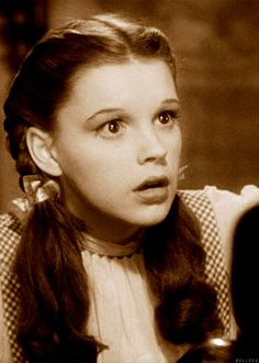 The Wizard of Oz - Judy Garland's pure innocence as Dorothy just mesmerizes me; this picture captures that innocence.
