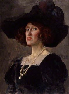 Lady Ottoline Morrell, 1919 by Augustus John (1878-1961)