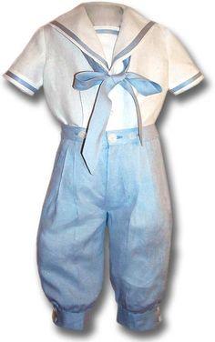 Boy's Line Sailor suit