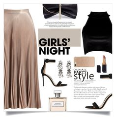 """#95 - Girls Night Out"" by alystyles12 ❤ liked on Polyvore featuring A.L.C., Boohoo, Gianvito Rossi, Jimmy Choo, Ben-Amun, Ralph Lauren and Kate Spade"