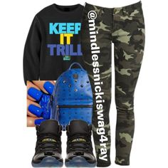 Gamma Trill., created by mindlessnickiswag4ray on Polyvore