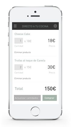New App Template by Glorium Organicus, via Behance