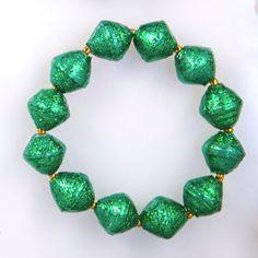 Emerald Starry Night Bracelet by 31 Bits - SET & STYLE