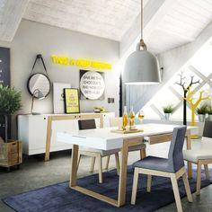Stół Magh Średni 160x90 Absynth  Piękny, nowoczesny oraz funkcjonalny stół rodzinny do jadalni dla 6 osób http://outlabsklep.pl/Stol-Magh-Sredni-160x90-Absynth