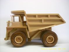 Build DIY Free woodworking plans toy trucks PDF Plans Wooden wood wagon…