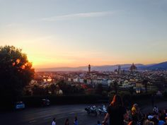 Friends and sunsets in Italy - API study abroad student Graham DiNicola on his time in Florence, Italy