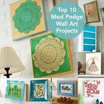 Mod Podge is one of the most versatile craft supplies out there! It's a medium used for traditional decoupage (layering paper), but there are so many more uses as well - especially in home decor! One of...