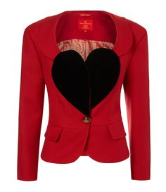 Love Jacket #RedLabel #AW1415 Vivenne Westwood - I love it! this old punkstyle love jacket! I would bury myself in it!!
