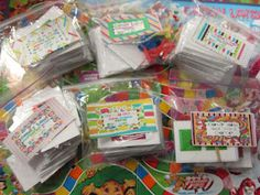A bunch of literacy games to do with Candyland.
